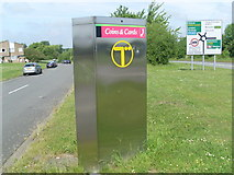 SP7006 : Phone Kiosk on the Thame By-Pass by David Hillas
