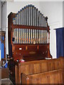 TG1807 : St. Andrew's Church Organ, Colney by Adrian Cable