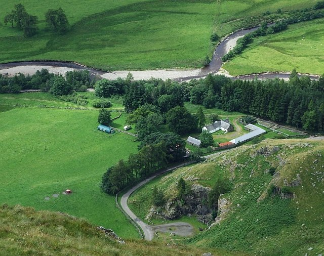 Braedownie Farm in Glen Clova