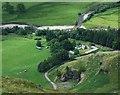 NO2875 : Braedownie Farm in Glen Clova by stuart anthony