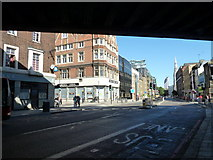 TQ3179 : Looking from Upper Marsh back to Westminster Bridge Road by Basher Eyre