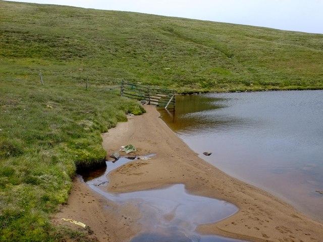 Southern end of Loch of Birriesgirt