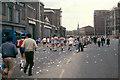 TQ3580 : London Marathon at Free Trade Wharf, 1982 by Robin Webster