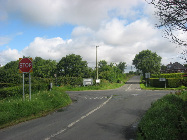 Crossroads at Oberstown, Co. Louth
