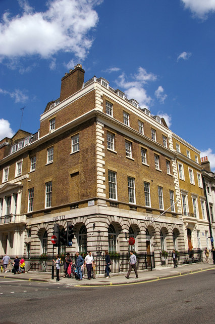 Coutts Bank, Wigmore Street, London W1