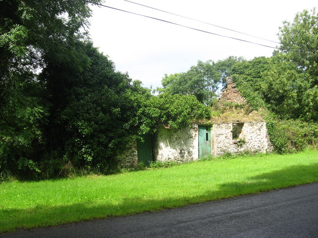 Ruined cottage at Newtownfortesque, Co. Meath