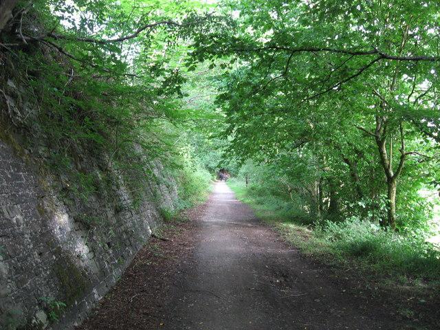 Taff Trail / Trevithick Trail near Pont y Gwaith