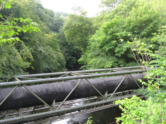 Bridges over the Taff, near Quaker's Yard