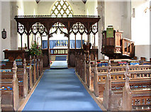 TL7388 : The church of St James in Wilton - view east by Evelyn Simak