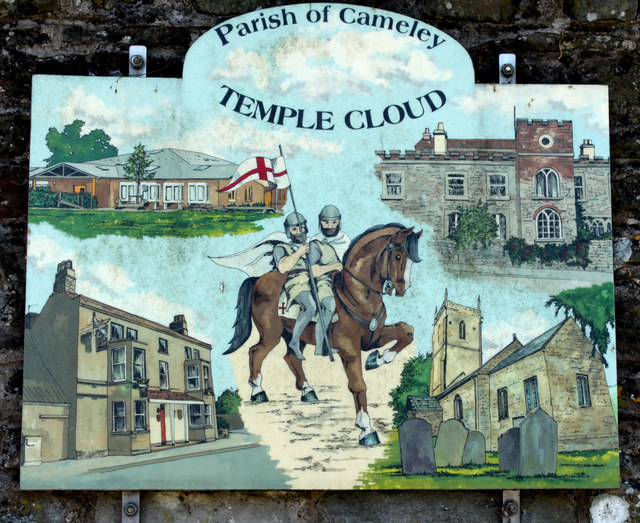 2010 Village Sign Temple Cloud 169 Maurice Pullin Cc By border=