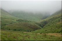 NT1513 : Upper reaches of Carrifran Glen by Jim Barton