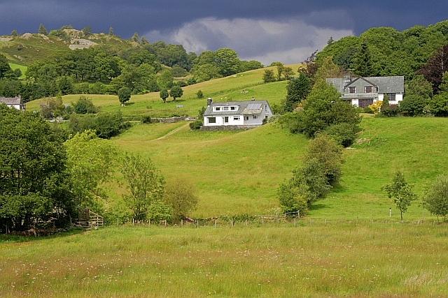 Houses on Greenbank, Little Langdale