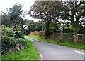 SH3332 : Minor road leading to Tremvan Hall by Eric Jones