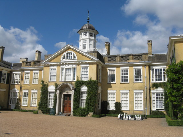 Polesden Lacey - front aspect