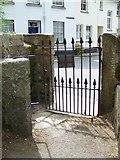SX7087 : Kissing gate, Chagford by Maigheach-gheal