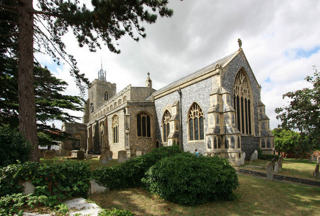 St Mary, Diss, Norfolk