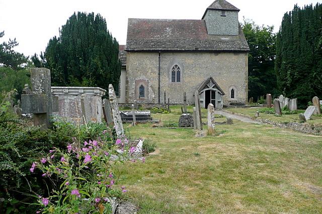 Clayton church by Graham Horn