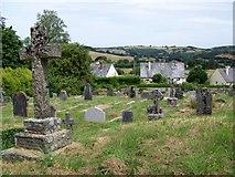 SX7087 : Churchyard, St Michael's Church, Chagford by Maigheach-gheal