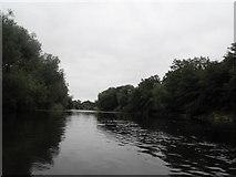 SJ5114 : The River Severn - Shrewsbury by Anthony Parkes