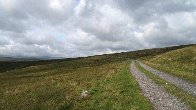 Estate Road Below Herdship Fell