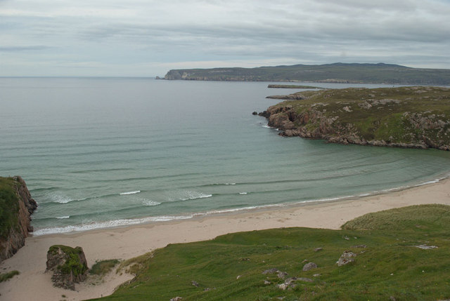 Beach and Whiten Head by Peter Moore