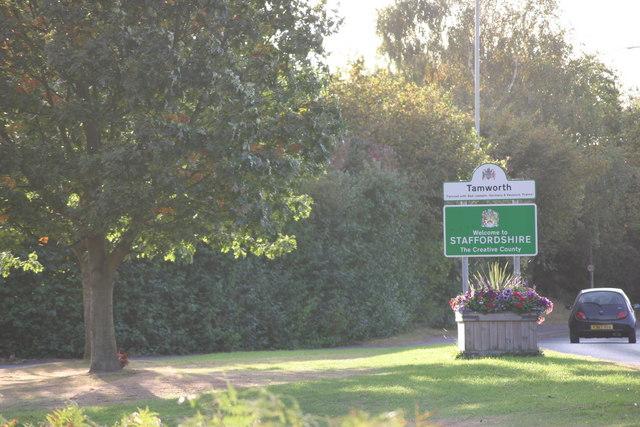 Tamworth, Staffordshire Town Sign  (1)