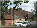 TQ9841 : The Singleton Barn, Ashford (2) by David Anstiss