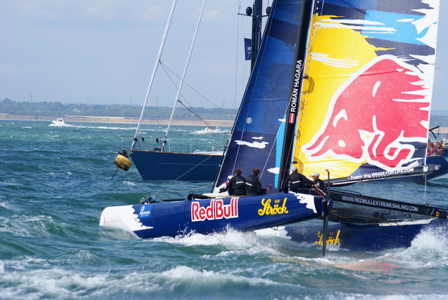 Extreme 40 Class Racing, Cowes, Isle of Wight