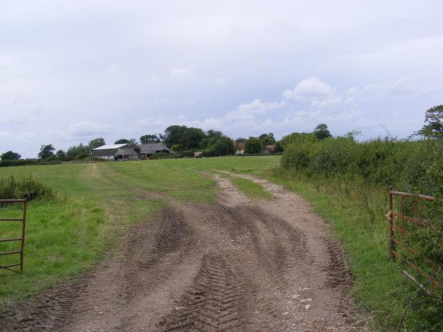 Looking towards South Grange