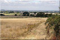 SK7528 : Public footpath in the Vale of Belvoir by Kate Jewell