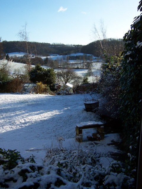 Boxing Day Snow in Uley