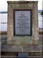 ST5661 : Commemorative plaque by Neil Owen