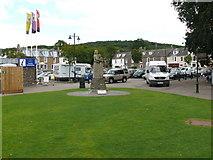 NX6851 : Memorial Statue, Kirkcudbright by Andy Farrington