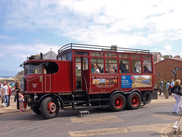 Steam Powered Bus, Whitby