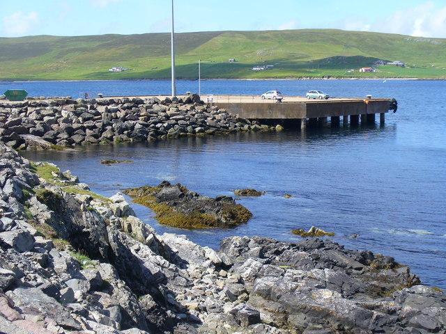 Pier by Doos' Cove