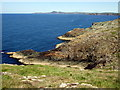 SM8032 : The coastline from Pen Clegyr, looking northeast by ceridwen