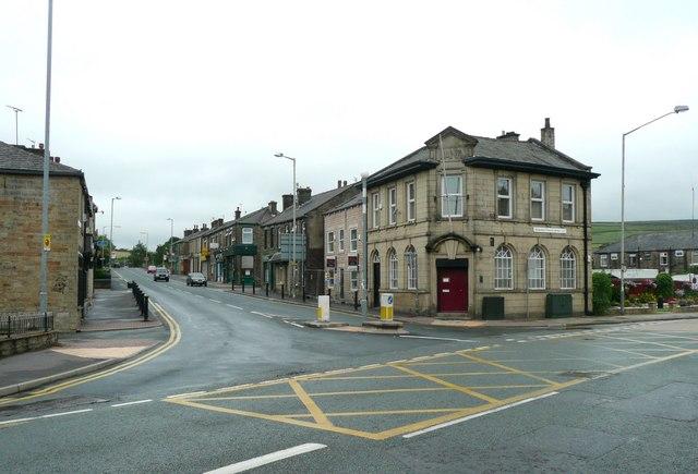 The A640, Newhey, Milnrow