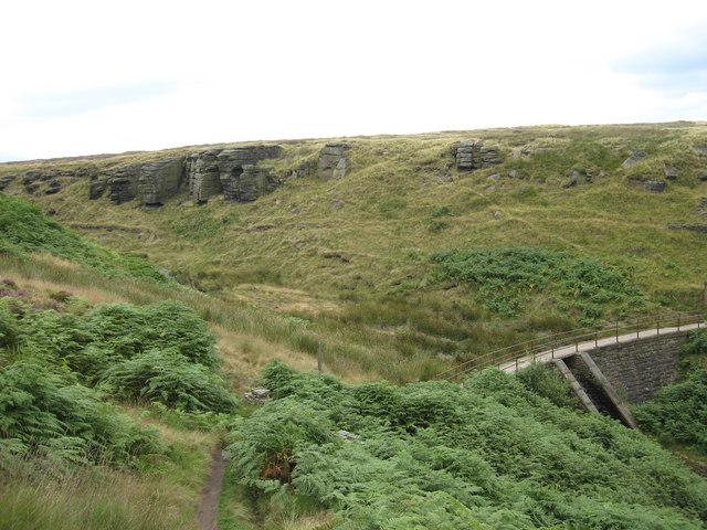 Footpath near White Wall End