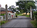 TM4063 : Knodishall Green Level Crossing by Adrian Cable