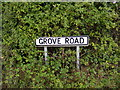 TM4162 : Grove Road Sign by Adrian Cable