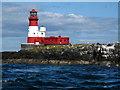 NU2438 : Longstone Lighthouse by Trevor Littlewood