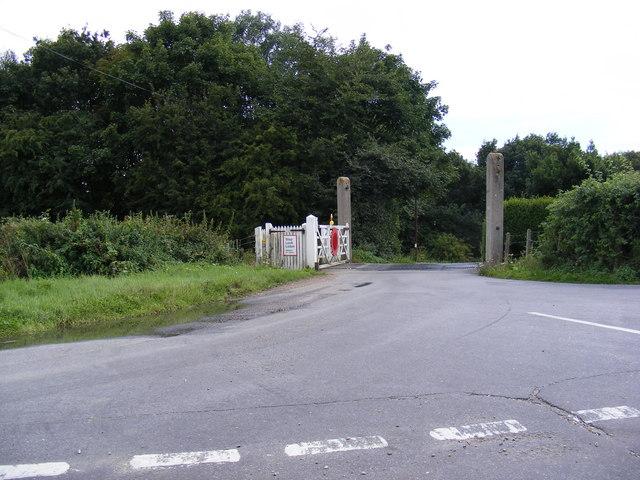 Saxmundham Road Crossing