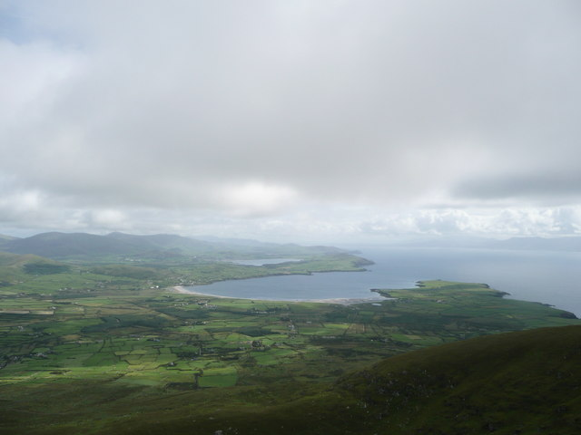 Ventry Harbour from Mount Eagle