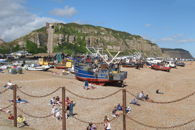 Fishing Boats and East Hill