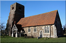 TL9011 : St Nicholas Church, Tolleshunt Major, Essex by Peter Stack