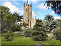SW4730 : St Mary's Church, Penzance by David Dixon