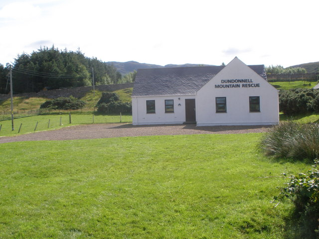 Dundonnell Mountain Rescue Station