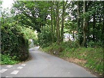 SH2332 : An unclassified road entering Sarn Meyllteyrn from the south by Eric Jones