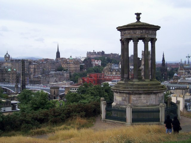 Monument, Calton Hill, Edinburgh