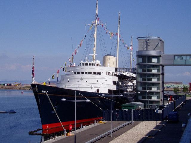 HMY Britannia, Ocean Terminal, Edinburgh